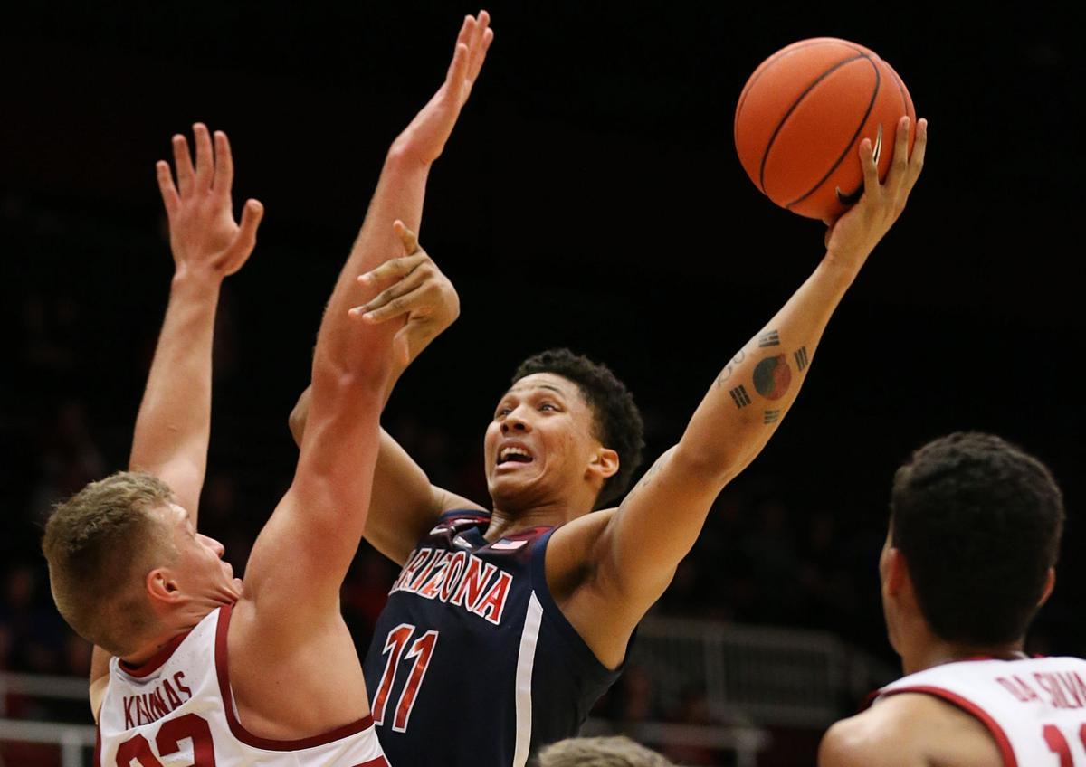 Arizona Wildcats vs. Stanford Cardinal men's college basketball