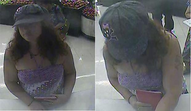 OV police seek check fraud suspect