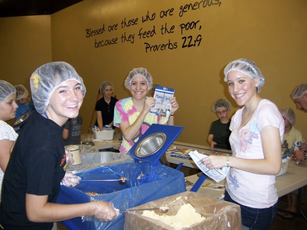 For 100K meals, a lot of packing