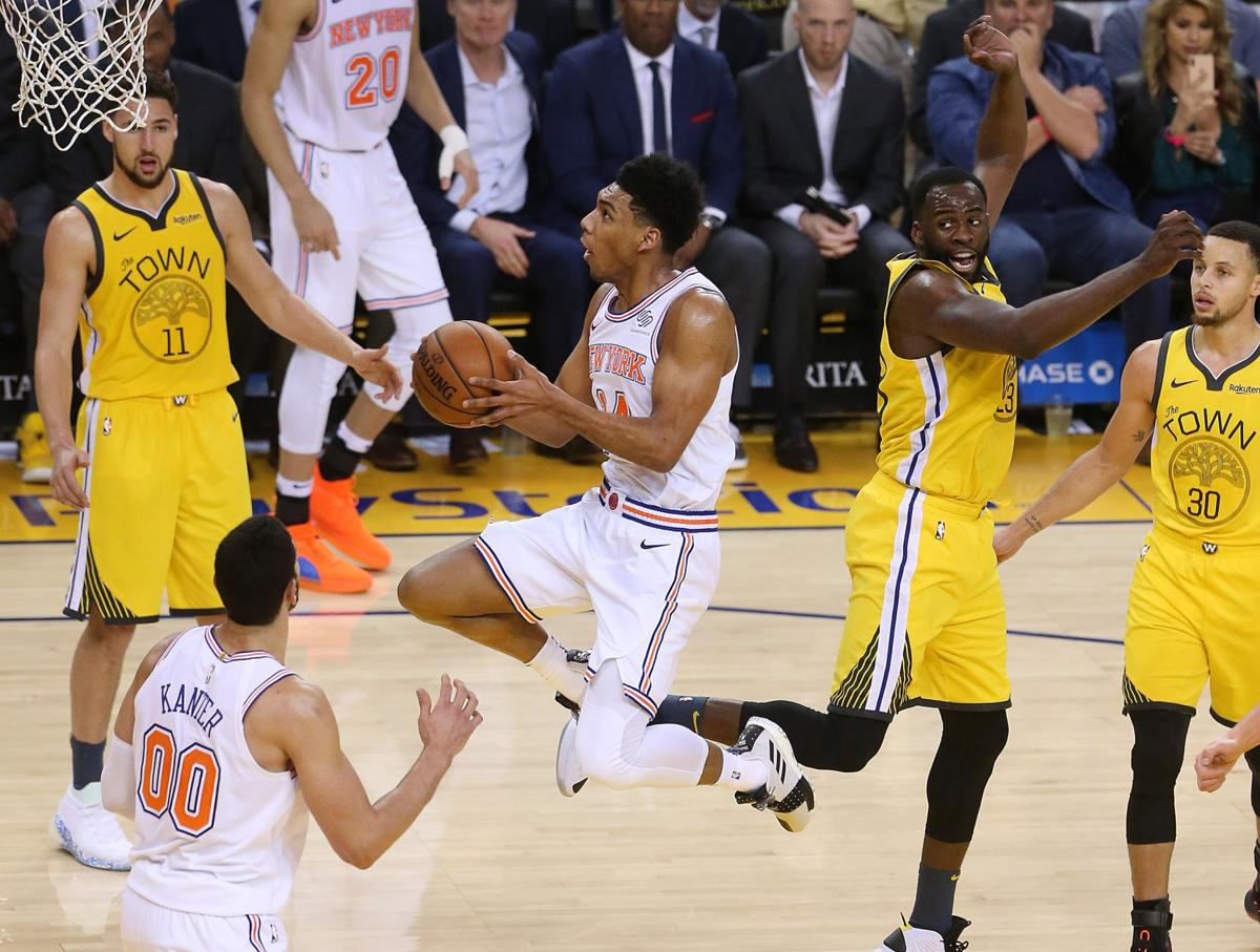 Allonzo Trier scores 11 points in Knicks 122-95 loss to Warriors (copy)