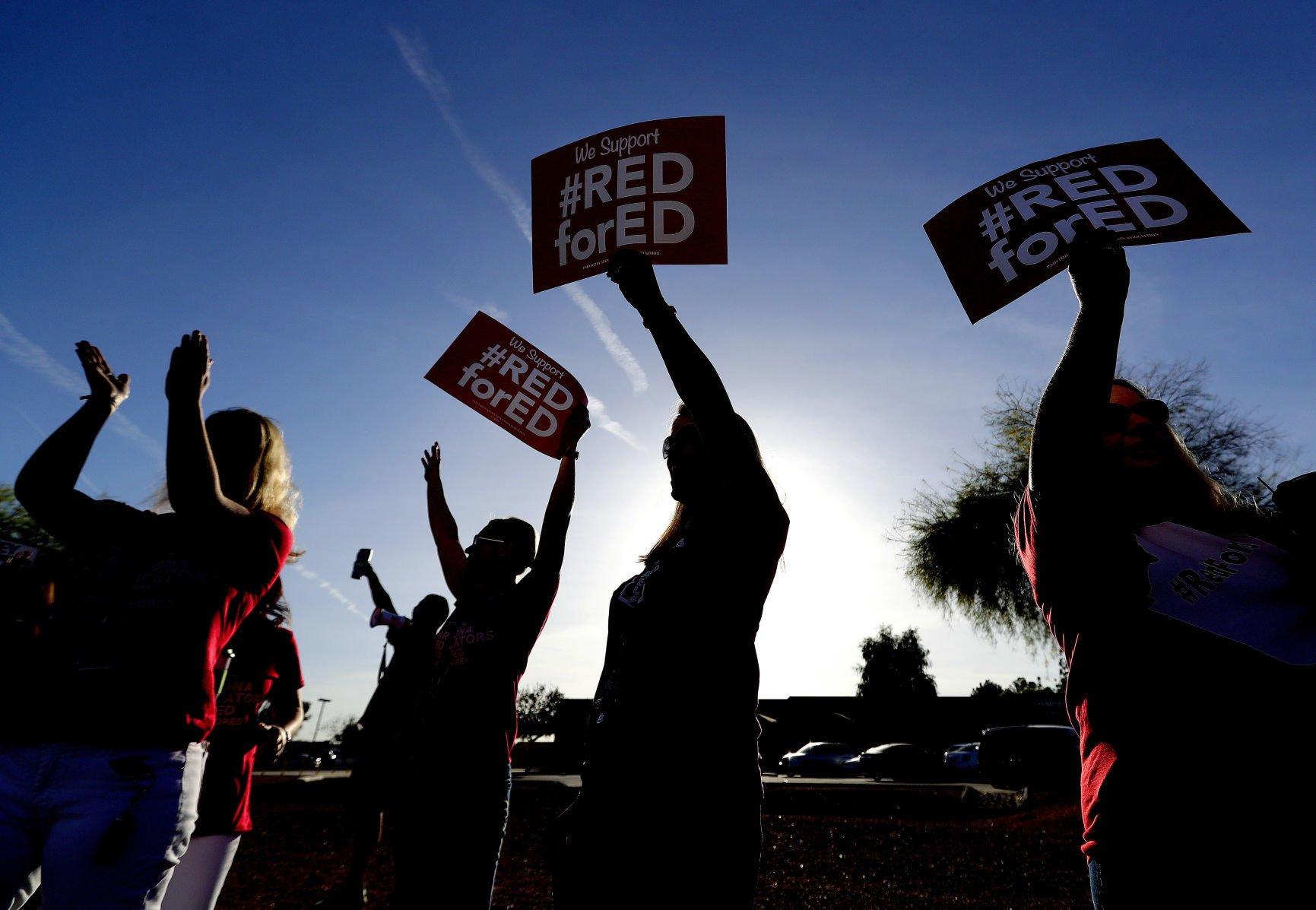 Steller's Friday Notebook: Political lines drawn as teachers weigh strike | Tucson.com