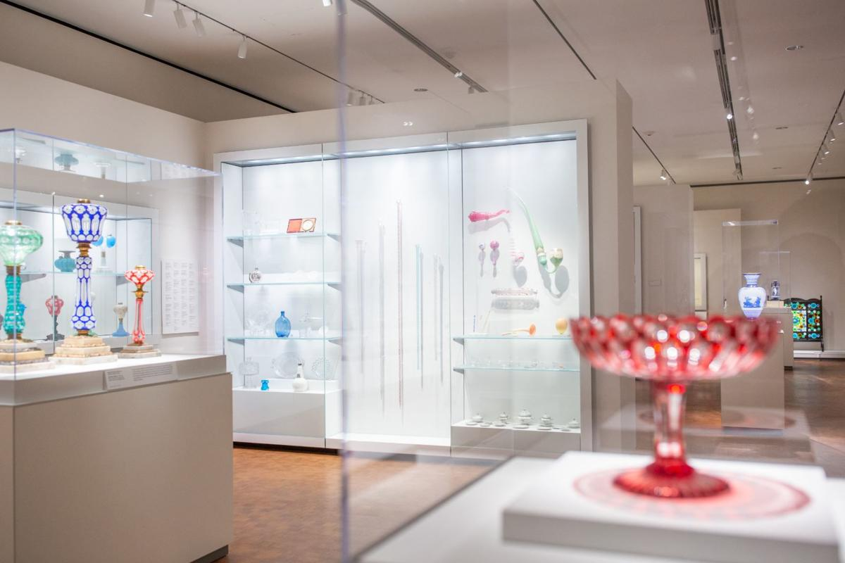 The glass collection is the star attraction at the Chrysler Museum of Art.