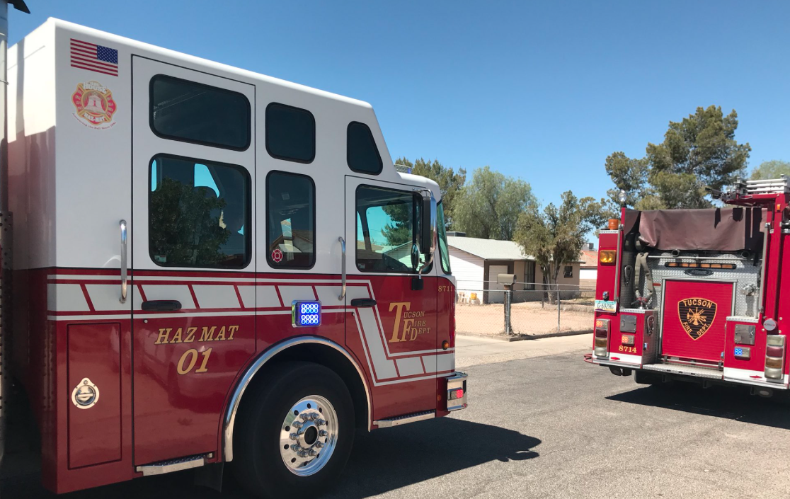 Tucson hazmat situation