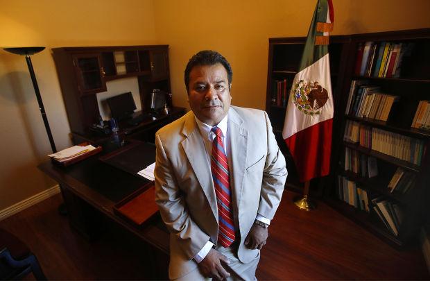 Ricardo Pineda, cónsul en Tucsón