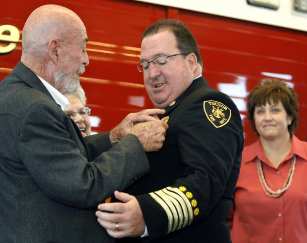 New Tucson Fire Chief Takes office