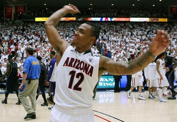 University of Arizona vs University of Washington basketball