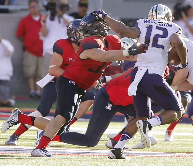 No. 17 Arizona vs. Washington college football