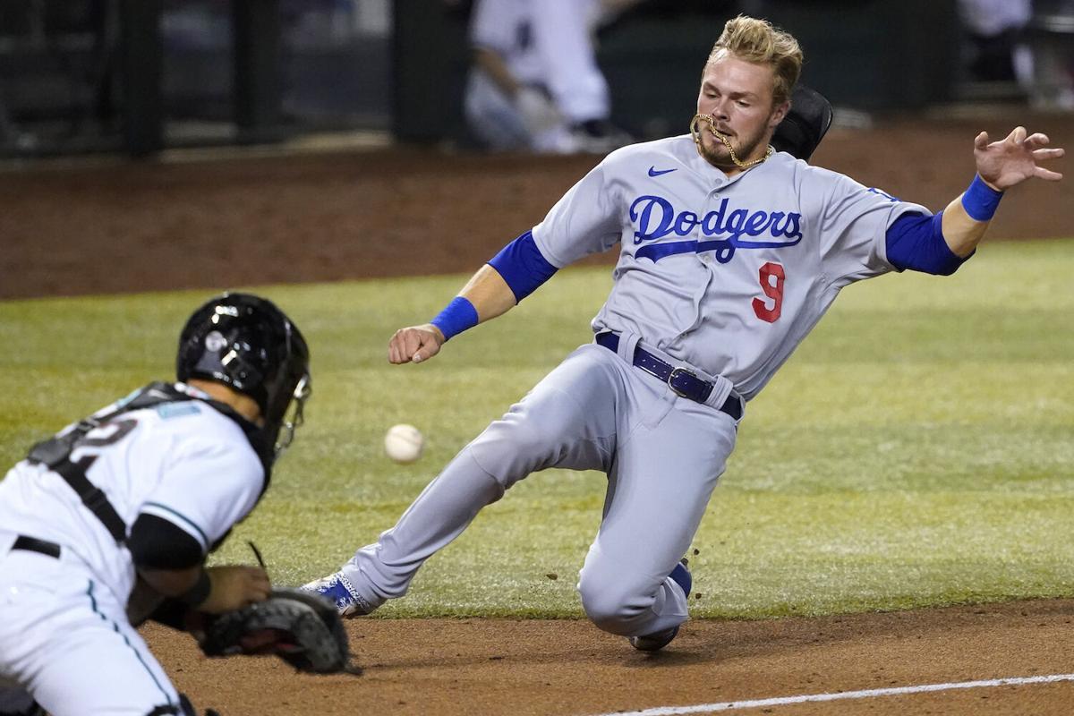 APTOPIX Dodgers Diamondbacks Baseball
