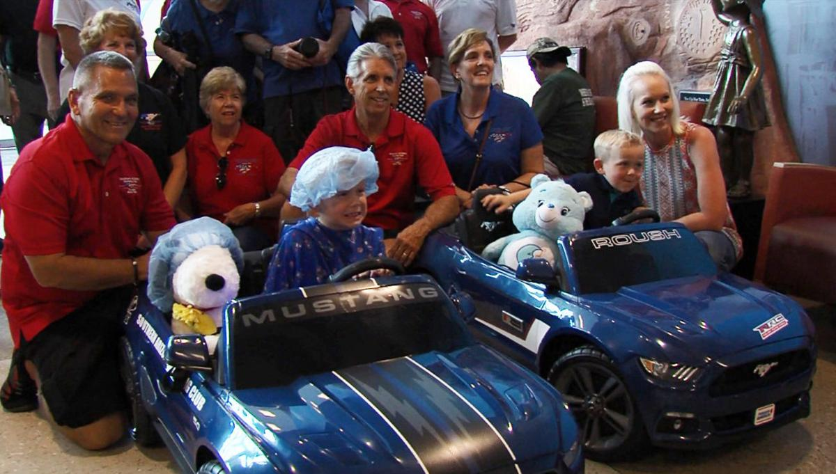 Mustang toy donation