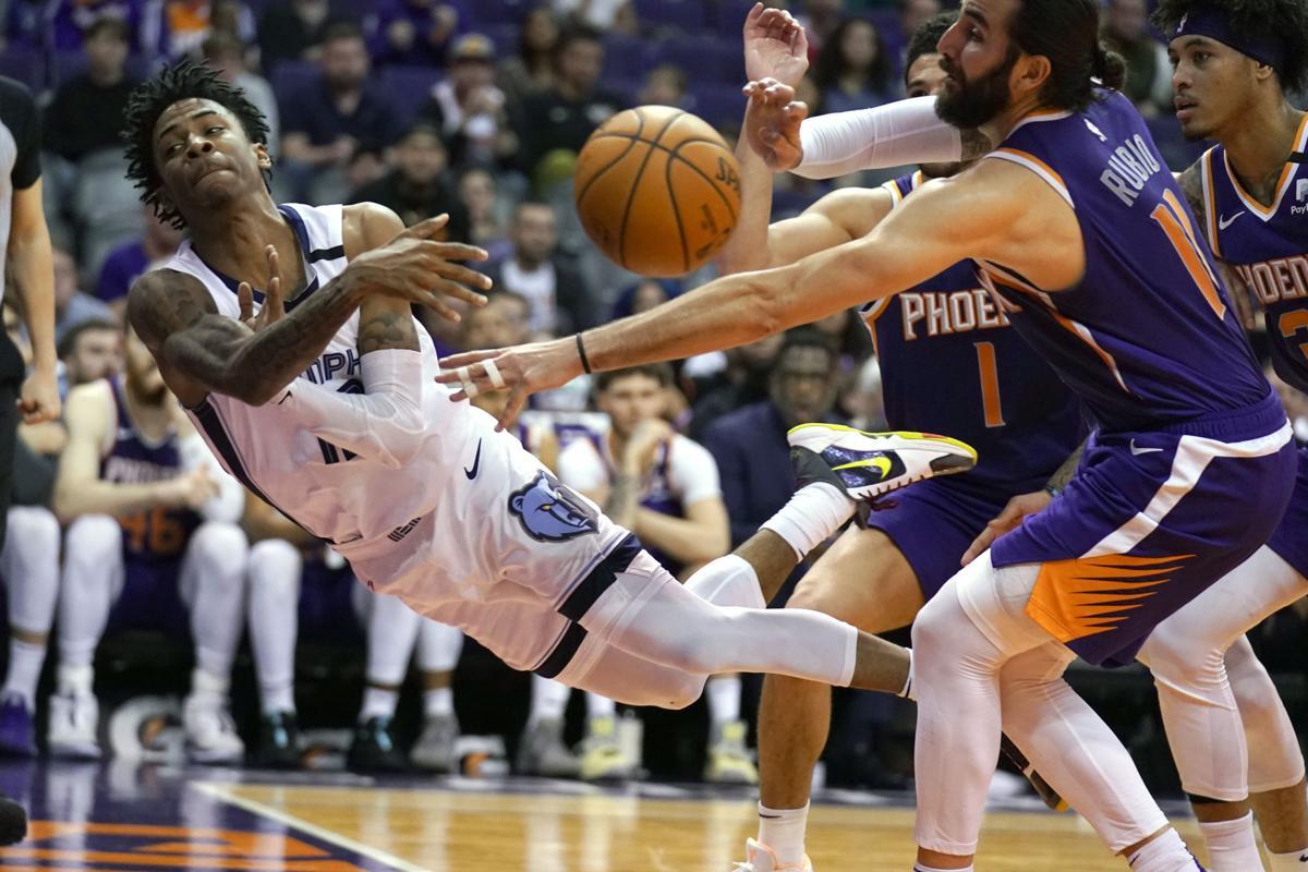APTOPIX Grizzlies Suns Basketball