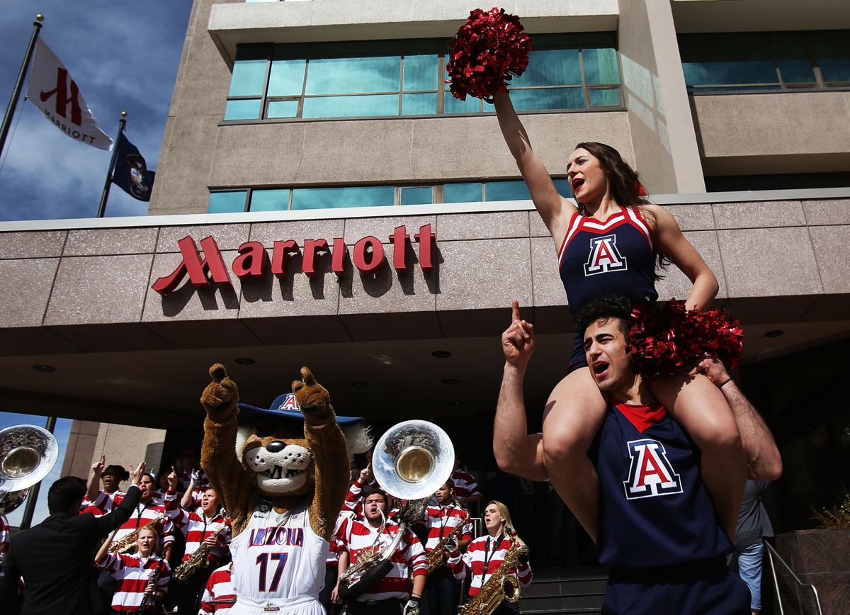 Arizona Wildcats pep rally