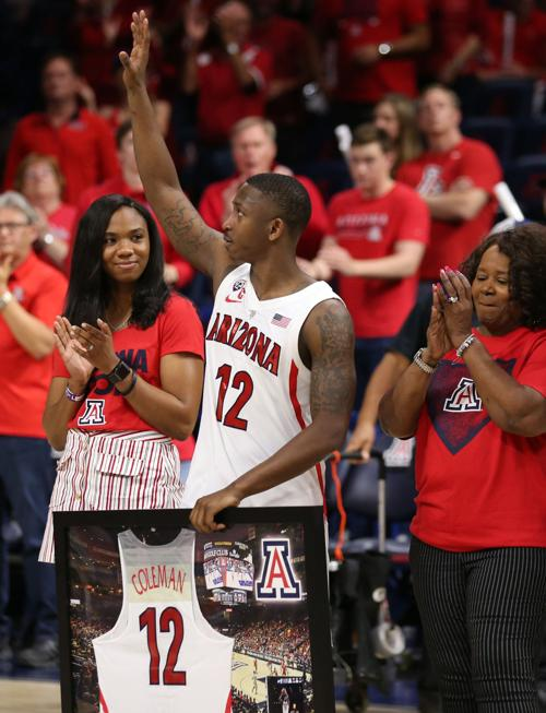 brand new 63d5d 5fdbd Justin Coleman says he's taking graduate assistant role with ...