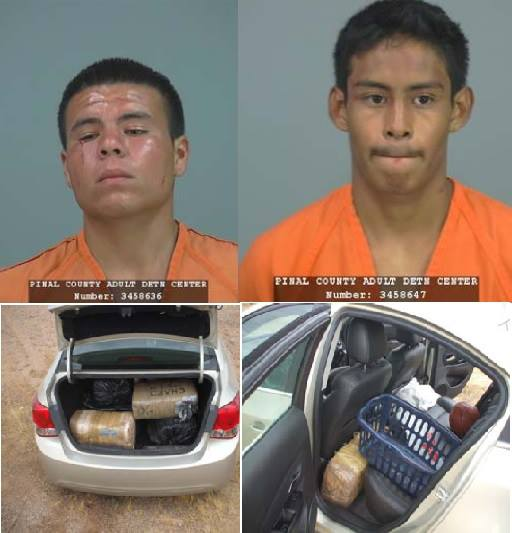 2 Mexico men — one a repeat offender — busted in Pinal County