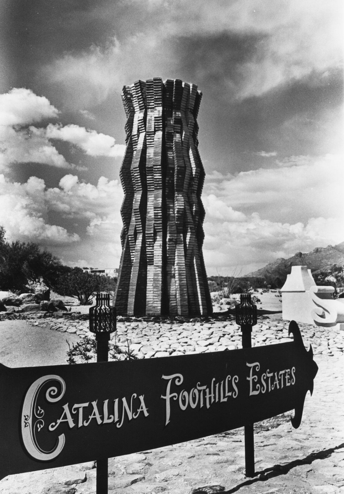 Cool Tucson fountains in 1966