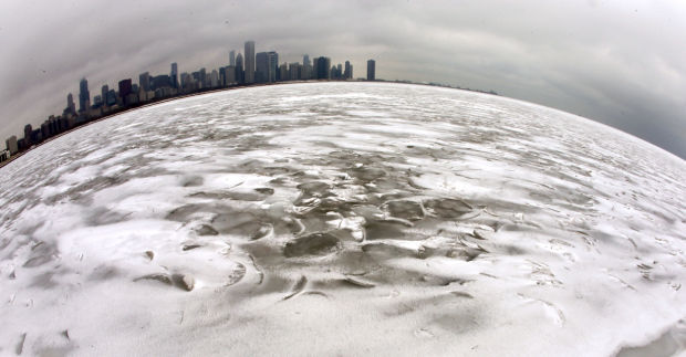 A different view of Lake Michigan