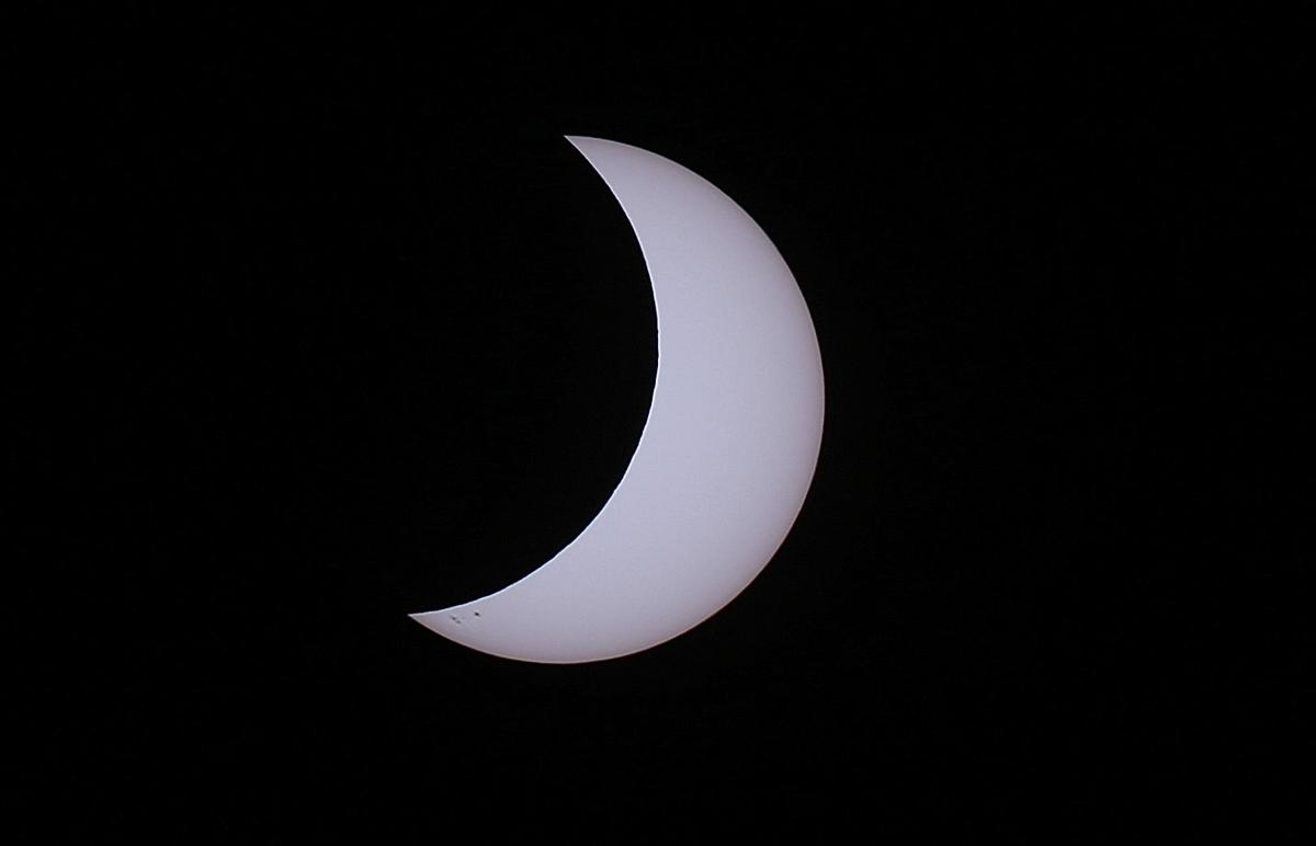 Solar eclipse in Tucson