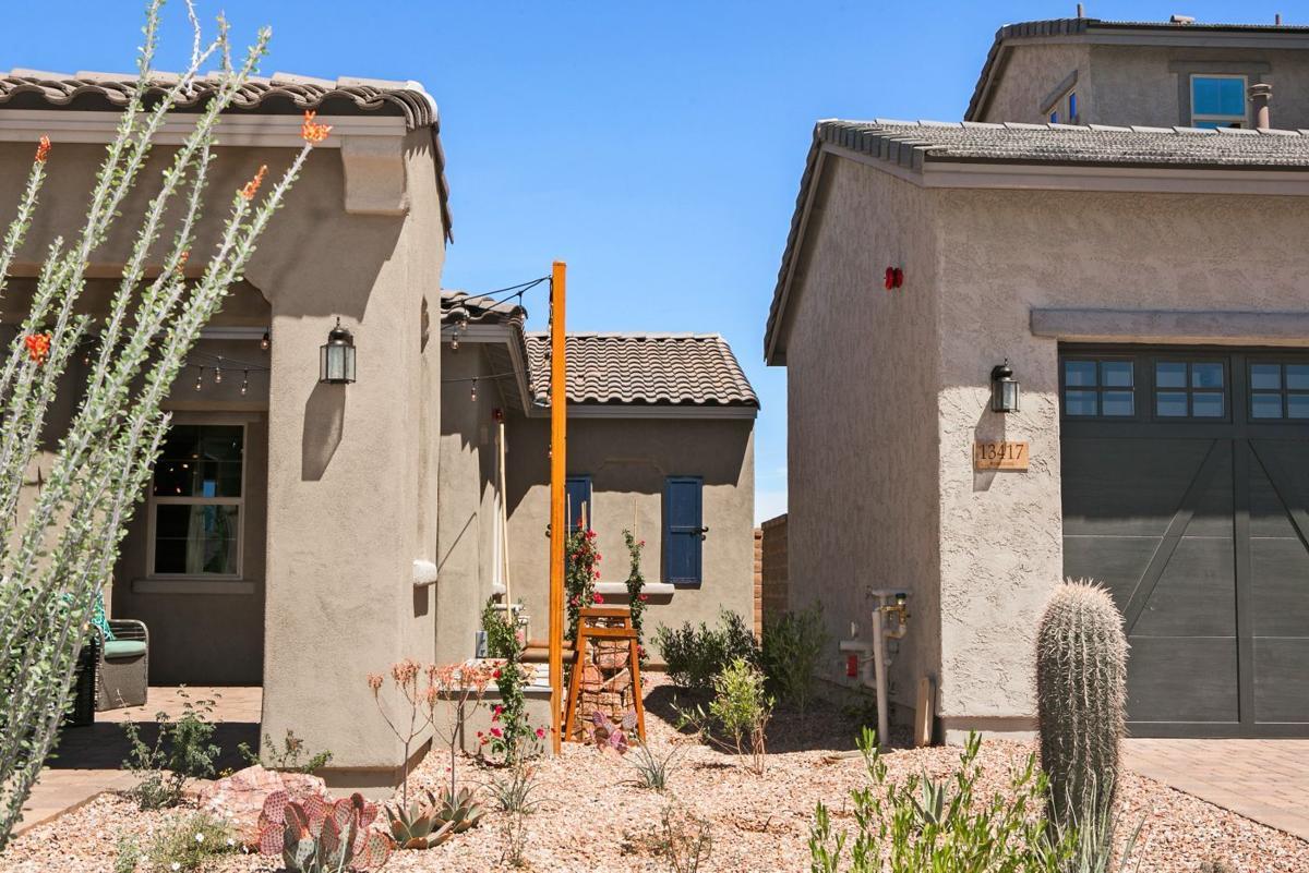 Zero-lot home design focuses on indoor space