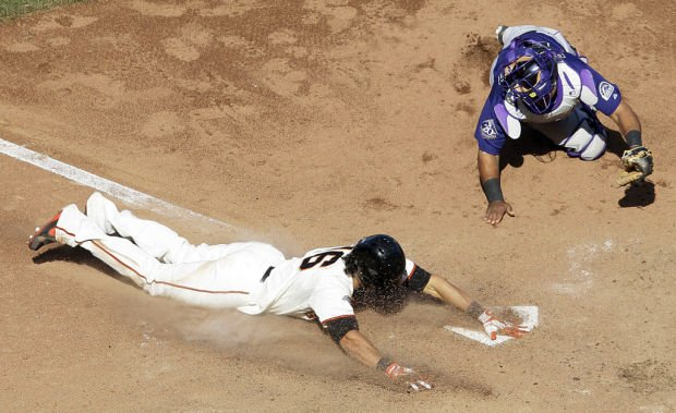 Game of the day: Giants 6, Rockies 5: Inside-the-park homer by Pagan lifts Giants
