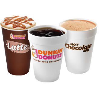 Free drinks at new Dunkin' Donuts