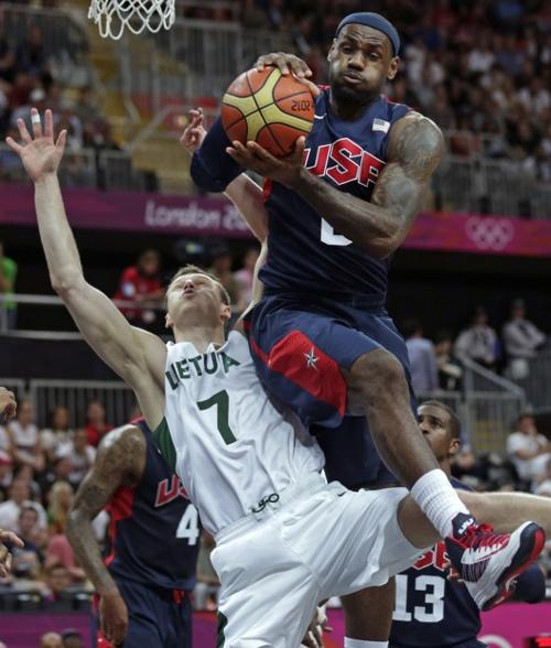 Basketball: Lithuania offers US men first real test