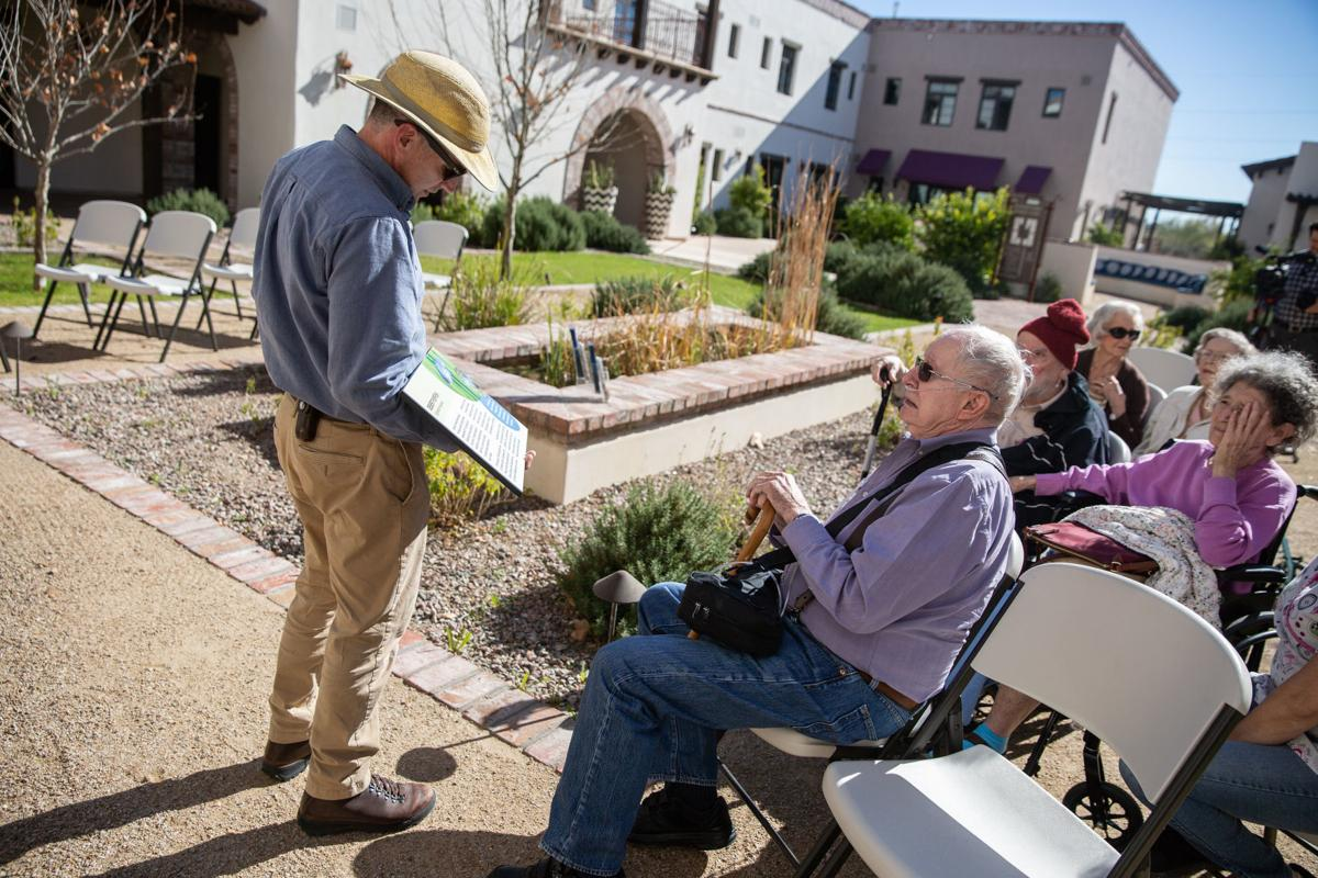 Endangered pupfish find shelter at Tucson retirement home