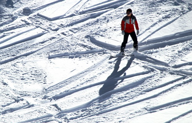 "Mt. Lemmon, with 29"" of snow, is a big white magnet for skiers"