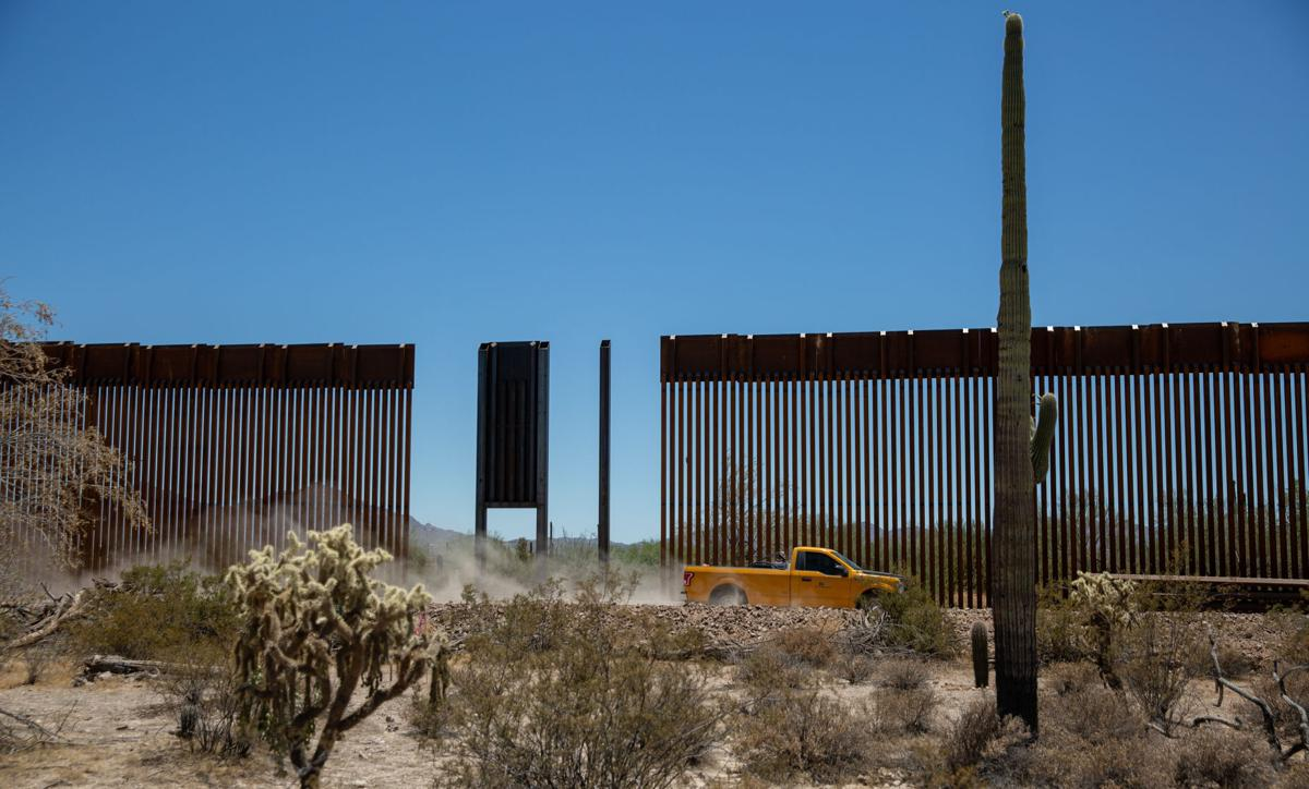 Feds: Arizona can't sue over halt to border wall construction