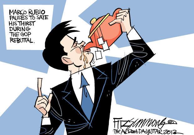 Daily Fitz Cartoon: Rubio