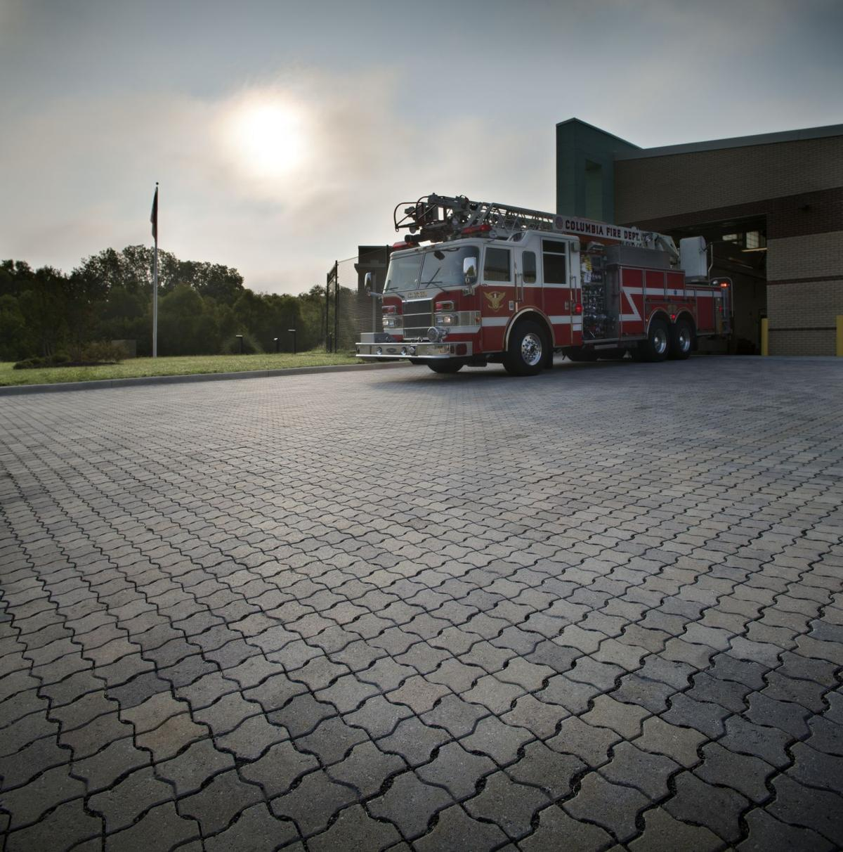 Can you park heavy vehicles on a concrete paver driveway?