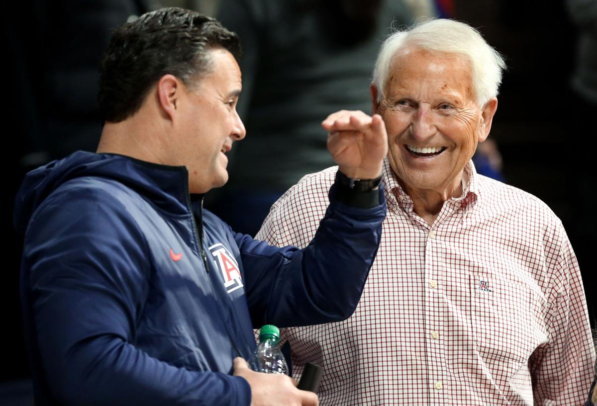 Lute Olson, Sean Miller (copy)