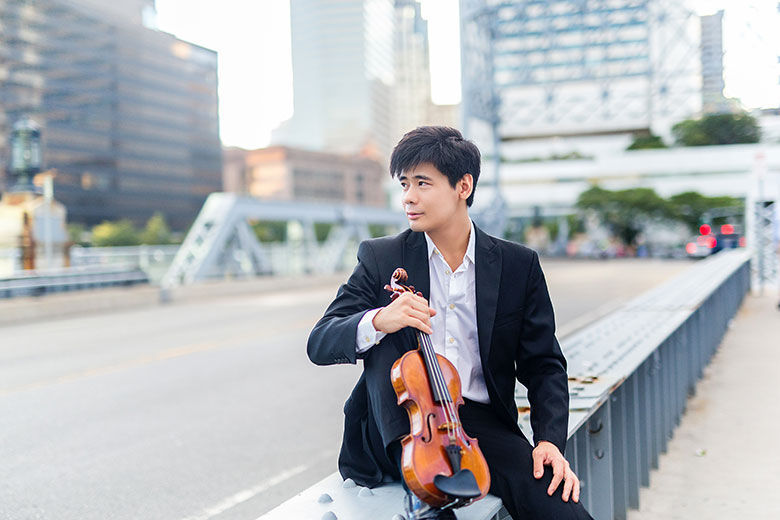 Violin virtuoso Angelo Xiang Yu teams up with Tucson