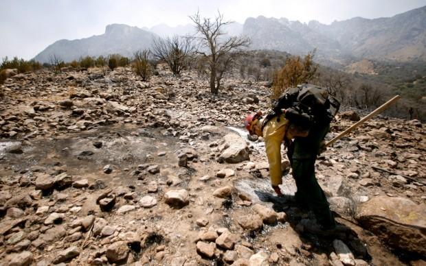 As fire near Portal spreads, it's hotshots to the rescue