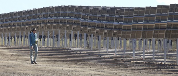 Avra Valley plant harvesting power of sun instead of cotton