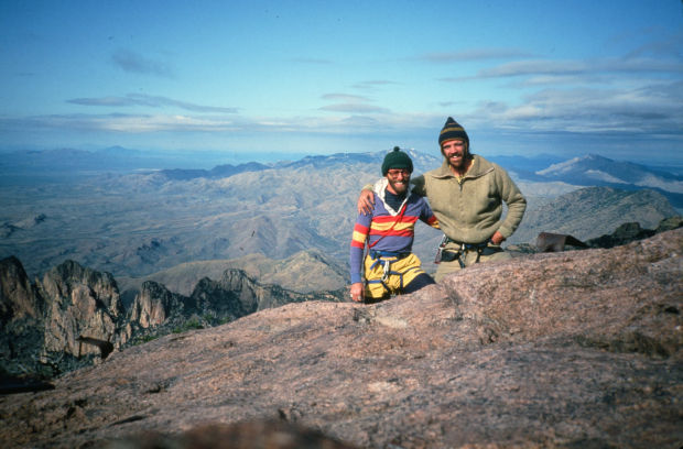 Summit of Baboquivari Peak