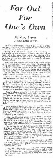 Tucson Citizen article Aug. 27, 1966