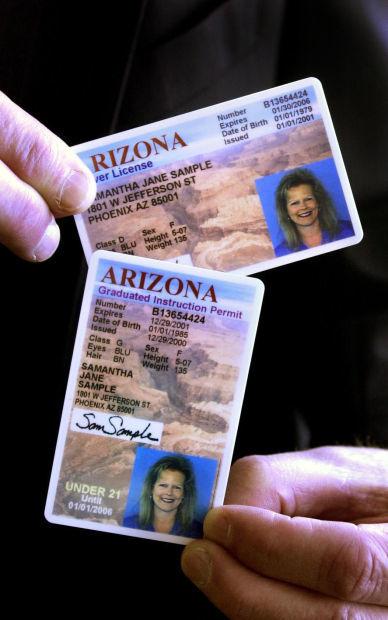 Arizona driver licenses