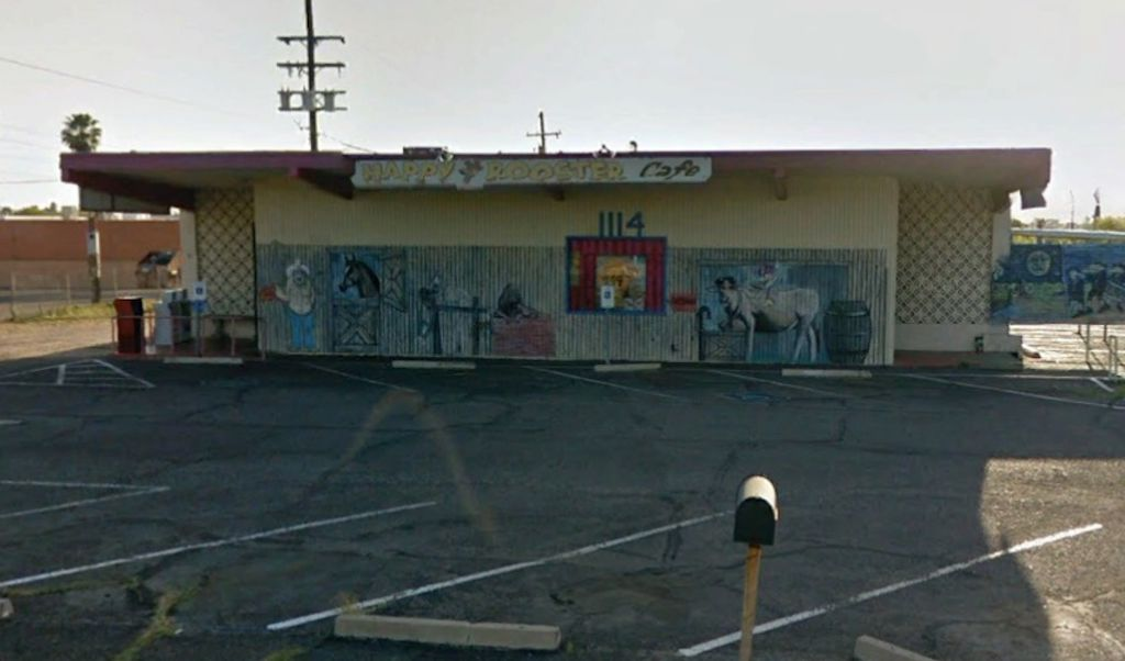 Happy Rooster Cafe,  1114 S. Sarnoff Dr.