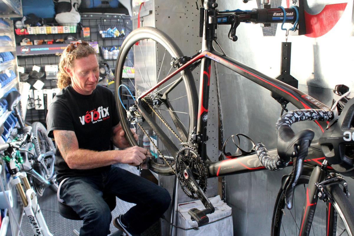 Mobile bicycle repair
