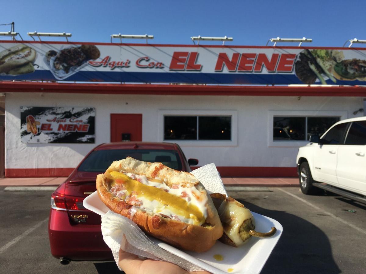 Hot Dog Taqueria Aqui con Nene