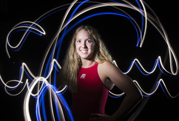 Fall 2013 Girls Swimmer of the Year Krista Duffield