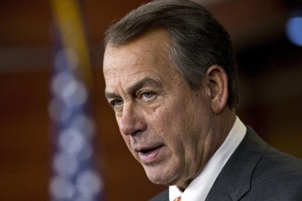 GOP forcing Obama's hand on spending, Boehner says