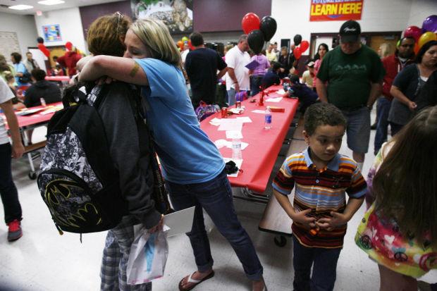 Kids, teachers reunite after EF5 tornado