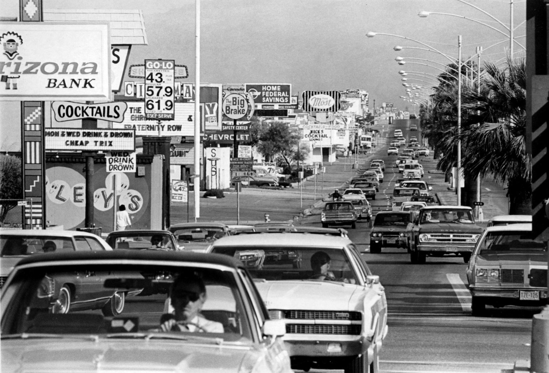 Speedway's label as 'ugliest street in the US' can be traced back to Tucson's 1962 mayor