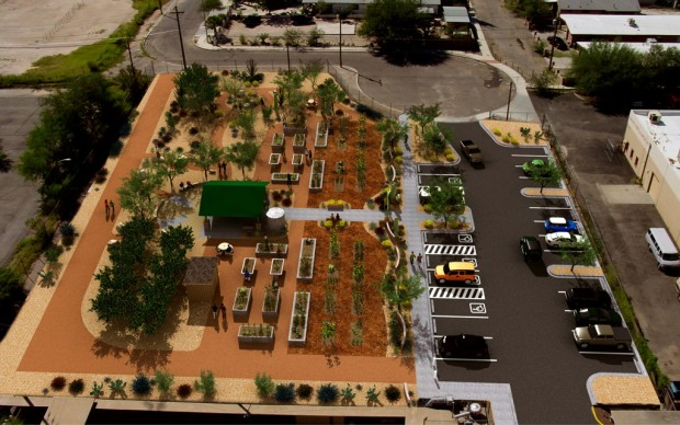 Garden takes root in low-income neighborhood