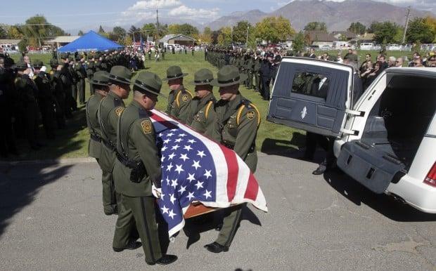 Hundreds in Utah remember slain border patrol agent