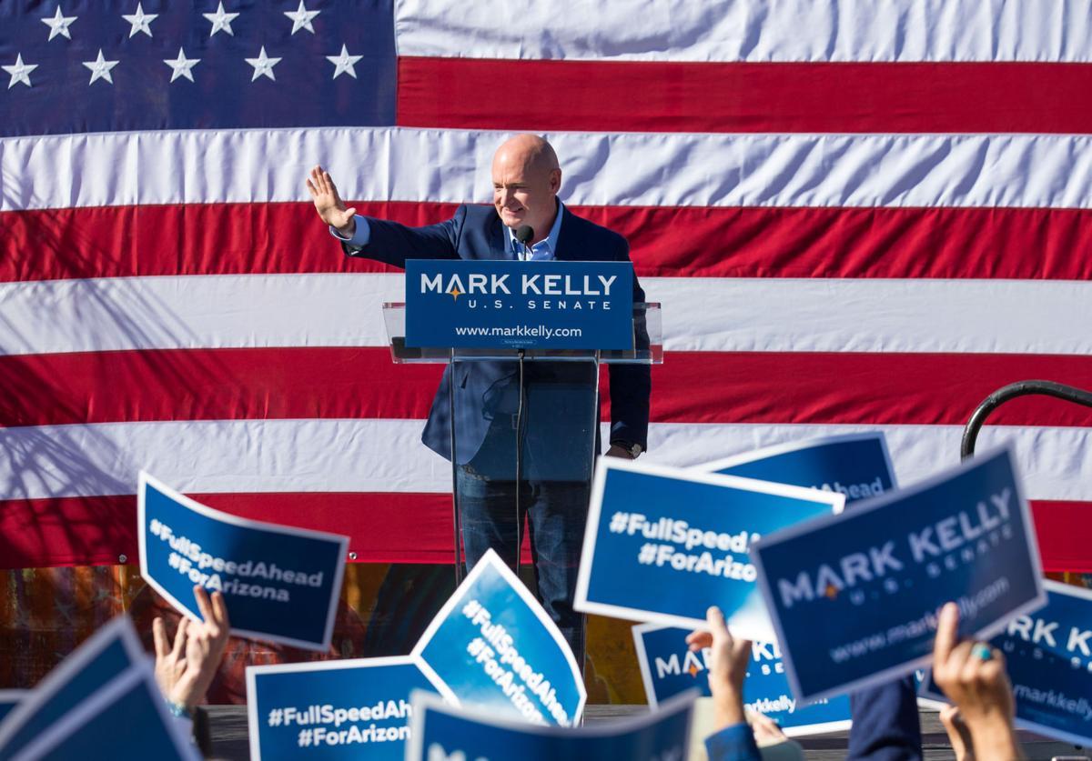 Mark Kelly senate disclosures