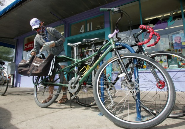 Push by cyclists slows new city parking rules