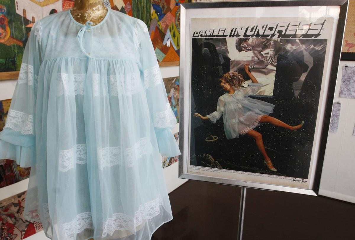 f648ba413 This two piece set is part of the collection of 60 s and 70 s lingerie that  will be for sale at Kitty s Specialty Shop. The ad next to it ran in the ...