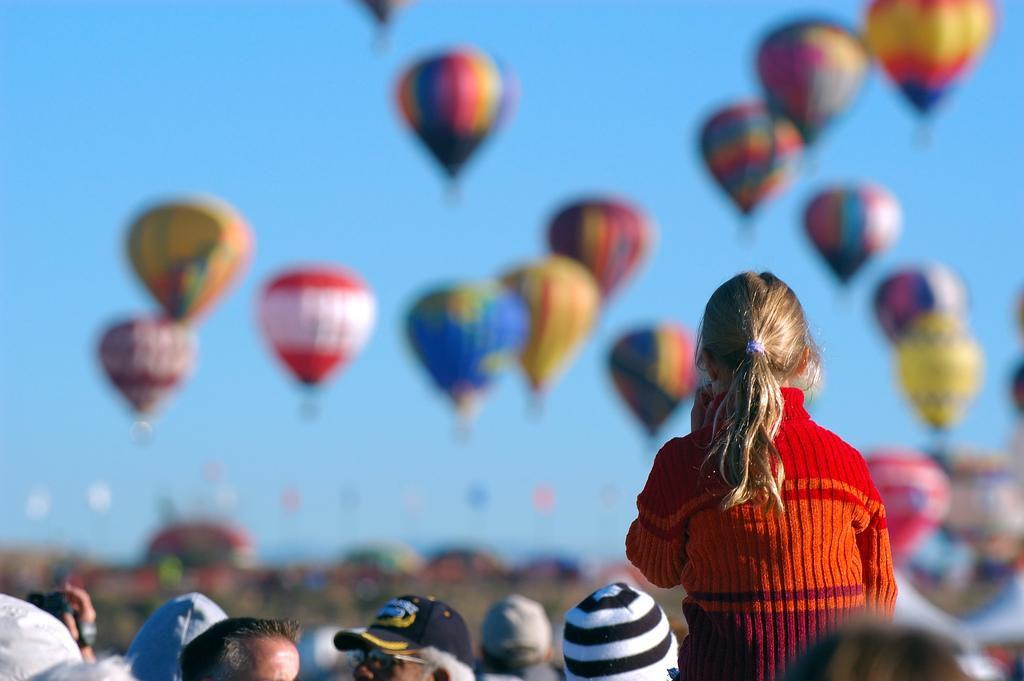 Glow Hot Air Balloon