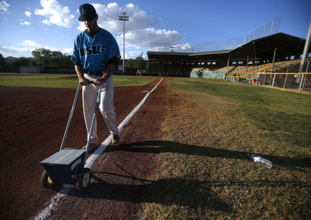The Bisbee Blue of the Pecos League